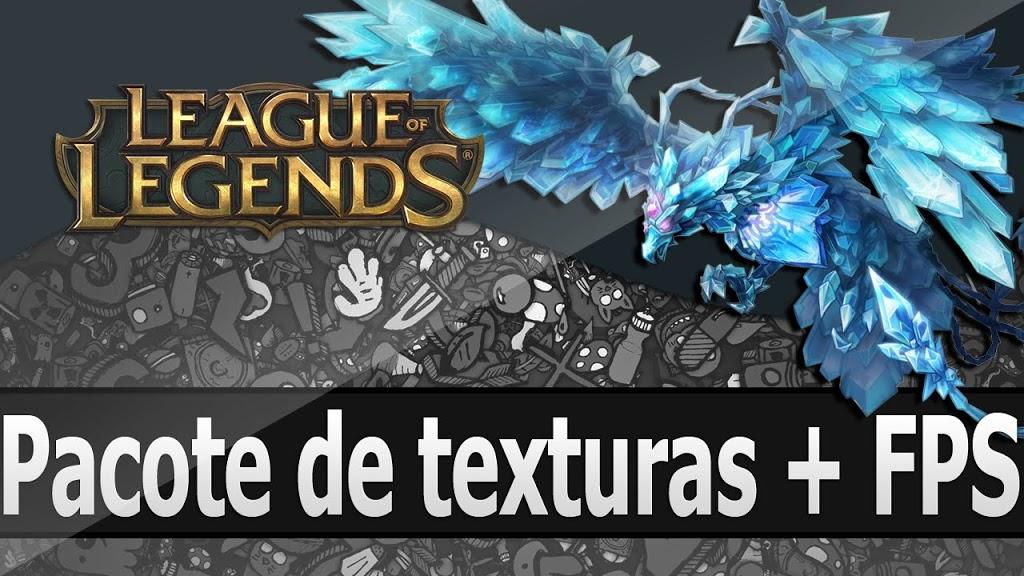 Pacote de texturas para o League Of Legends + FPS